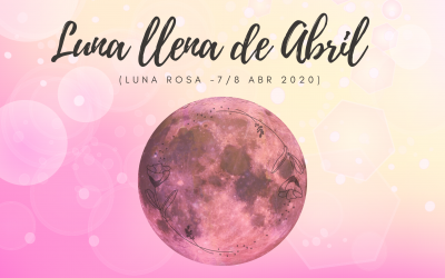 Superluna llena de Aries, 7-8 Abril de 2020