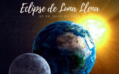 Eclipse de Luna Llena, 4-5 de Julio de 2020