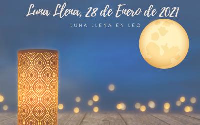 Luna Llena de Acuario, 28 de Enero de 2021