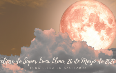 Eclipse de Super Luna Llena, 26 de Mayo de 2021