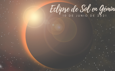 Eclipse de Sol, Luna Nueva 10 de Junio de 2021